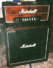 Klaus Luley's Marshall Amp getuned